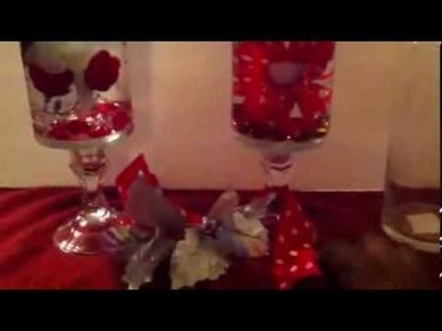 DIY Water Vase Centerpiece