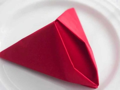 FISH 212 How to fold paper napkins Table napkin folding Napkin folds