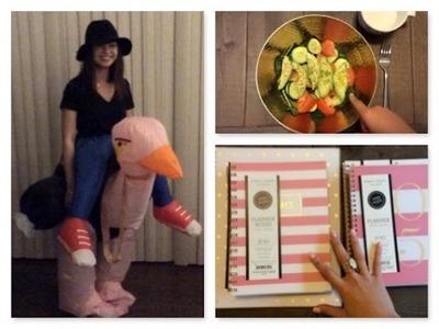 Halloween, Raw Vegan Food Diary, Sugar Paper Planner Haul! | TMTV