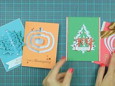 Hero Arts How-To: Paper Layering Dies