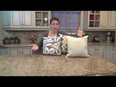 How to Make Pillows Out of Placemats