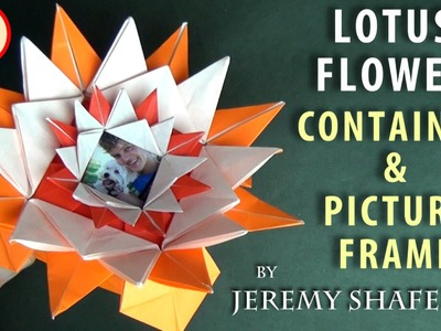 Lotus Flower Container & Picture Frame (no music)