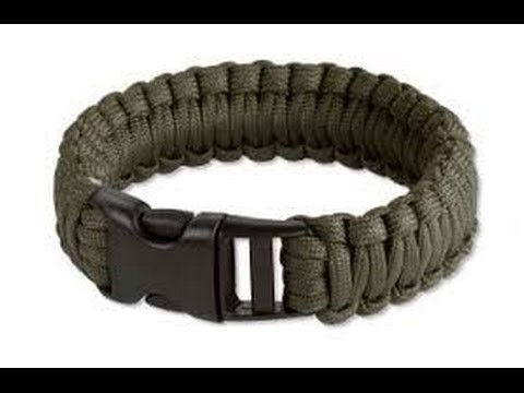 MAN VS DIY: Square Knot Survival Bracelet
