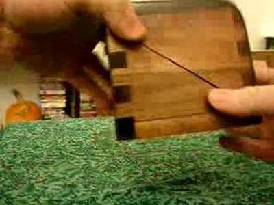Maple Puzzle Box