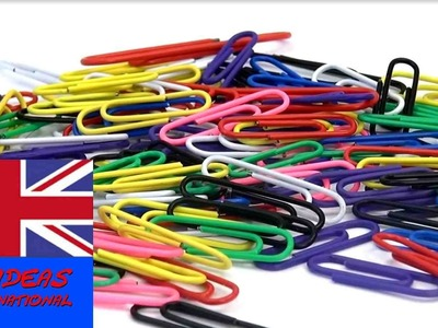 Paper clip life hacks - Tips and Tricks with Paper-Clips english tutorial video