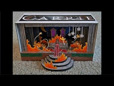"Paper Model of the Prom Distruction from the Movie ""Carrie"""