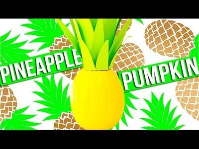 Pineapple Pumpkin DIY!