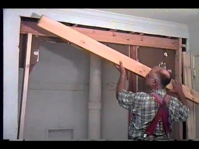 Pocket door installing and regular door install at the beginning