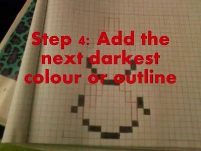 ♥ Pokemon DIY ♥ ~ ♥ How To Draw Pokemon Pixel Art ♥