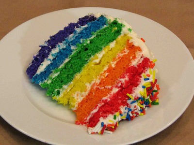 Rainbow Cake – Lynn's Recipes