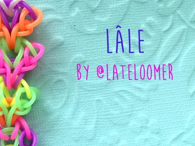 Rainbow Loom Bands Lâle by @Lateloomer tutorial