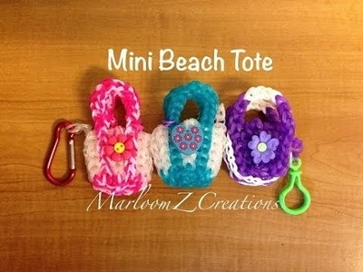 Rainbow Loom Beach Tote: Color Changing Charm: 2 Looms