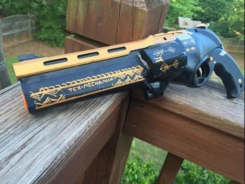 "Real Life ""Last Word"" from Destiny (Functional Nerf Gun Replica)"