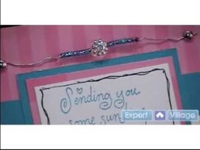 Scrapbooking Cards with Beads : Scrapbooking: Beaded Examples & Inspiration for Homemade Cardmaking