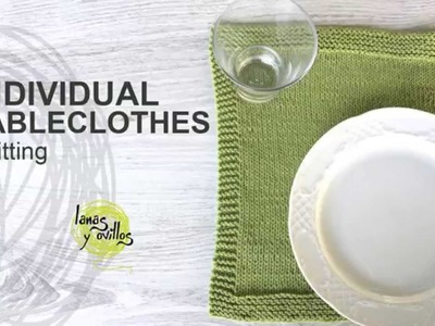 Tutorial Individual Tableclothes Knitting in English