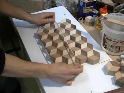 Woodworking - Making a  3d Tumbling cutting board