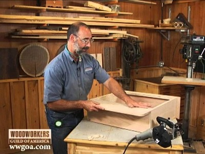 Woodworking Tips & Techniques: Joinery - Using a Biscuit Joiner