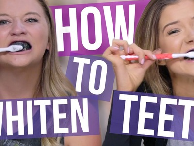 4 DIY Teeth Whitening Tricks (Using Household Products)