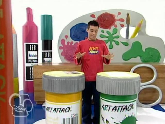 Art Attack, capítulo 042,capitulos art attack, Jordi Cruz