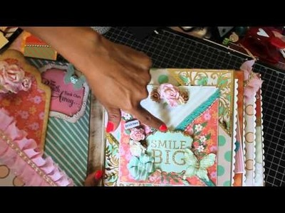 Baby Girl Scrapbook May 2015