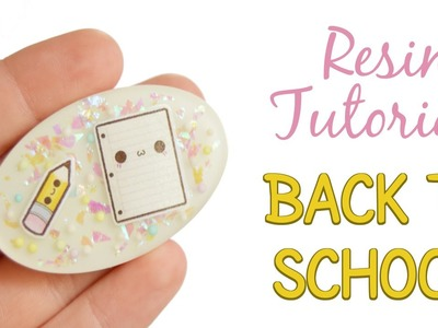 Back to School Kawaii Resin Piece Tutorial