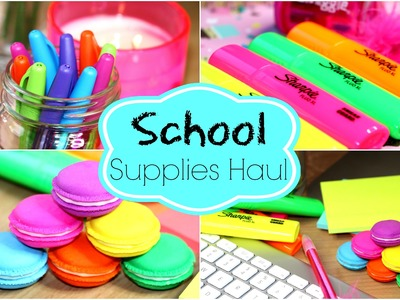 Back To School Supplies Haul!