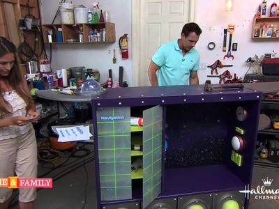 Boys Play Space Station - DIY by Tanya Memme (As Seen On Home & Family)