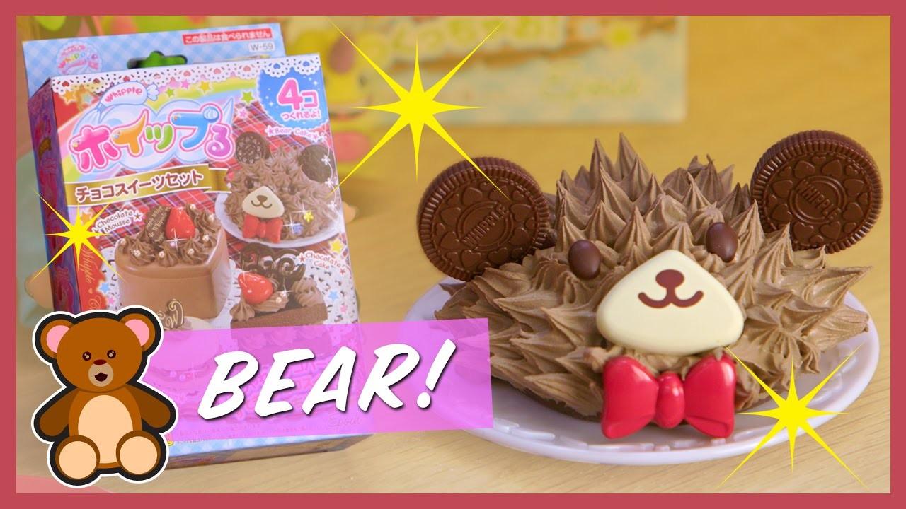 CHOCO-BEAR CAKE | Kawaii Cookin 4K | Strawburry17