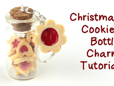 Christmas Cookies Bottle Charm Tutorial | Collab with FairyFashionArt