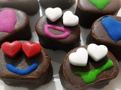 Como decorar bombones. regalo de san valentin ♥