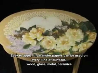 Decoupage in rilievo su legno- as relief on wood