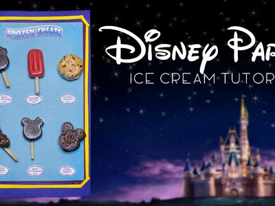Disney Parks Frozen Treats. Miniature Polymer Clay Tutorial