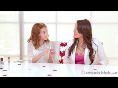 Disney's G Hannelius On Dog With A Blog + Valentine's Day Nail Tutorial!