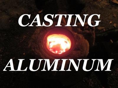 DIY How To Cast Aluminum