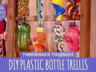 DIY Plastic Bottle Trellis - Throwback Thursday - HGTV Handmade