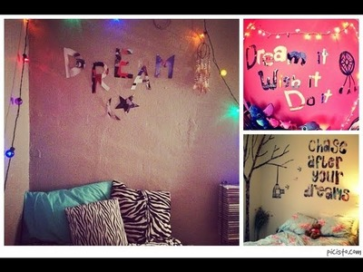 DIY: Room Decor | Tumblr Inspired Bedroom Quotes