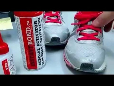DIY Shoe Repair: How to fix.Repair your own shoe (Leather Boot, Running. Sports Shoe)