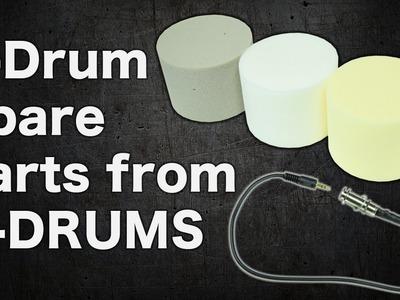 E-Drum Spare Parts Roland KD Cushion (DIY)