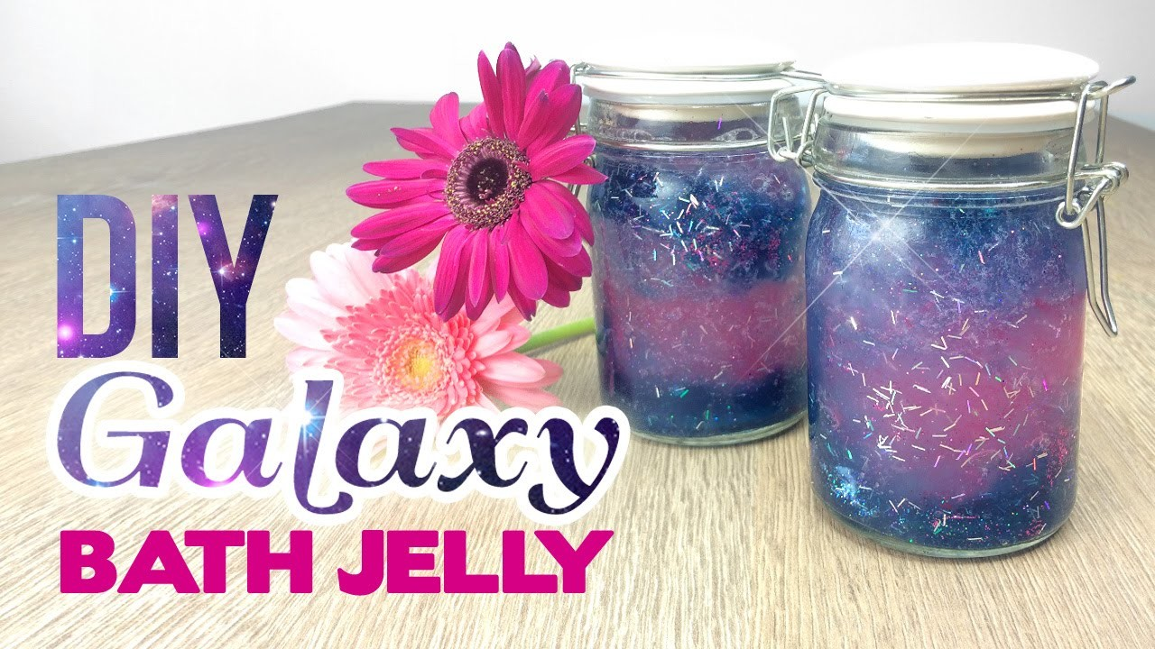Glittery GALAXY Bath Jelly! Lush & Tumblr Inspired DIY