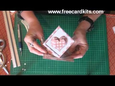 How to assemble a spring card kit