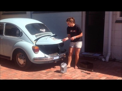 How to change the oil in a VW Beetle