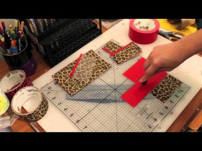 How To Make A Mini Wallet!!
