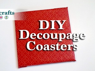 How to Make Your Own Customized Decoupage Coasters
