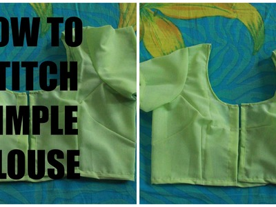 HOW TO STITCH SIMPLE BLOUSE (PART 2)