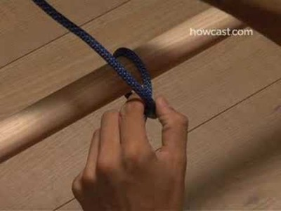 How to Tie a Clove Hitch Knot
