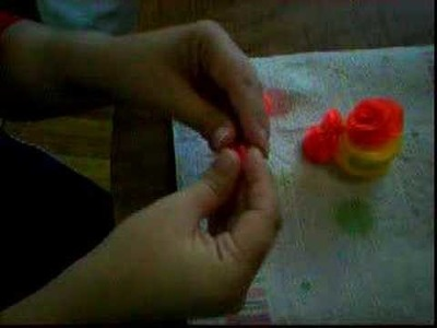 Making Clay Roses