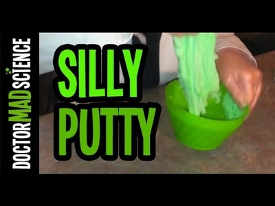 Making CRAZY Silly Putty at home