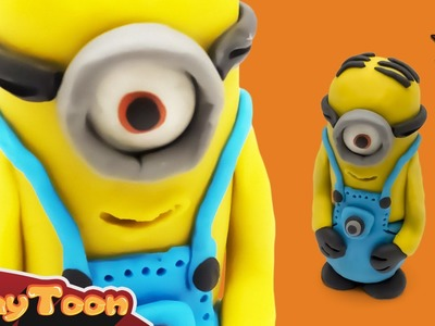 Minions - Polymer clay tutorial   شخصية مينيون الكارتونية - تشكيل صلصال