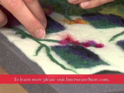 Painting with Wool, a Preview of Sharon Costello's Workshop