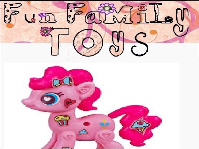 Pinkie Pie My Little Pony Pop Unboxing and Decoration DIY Crafts